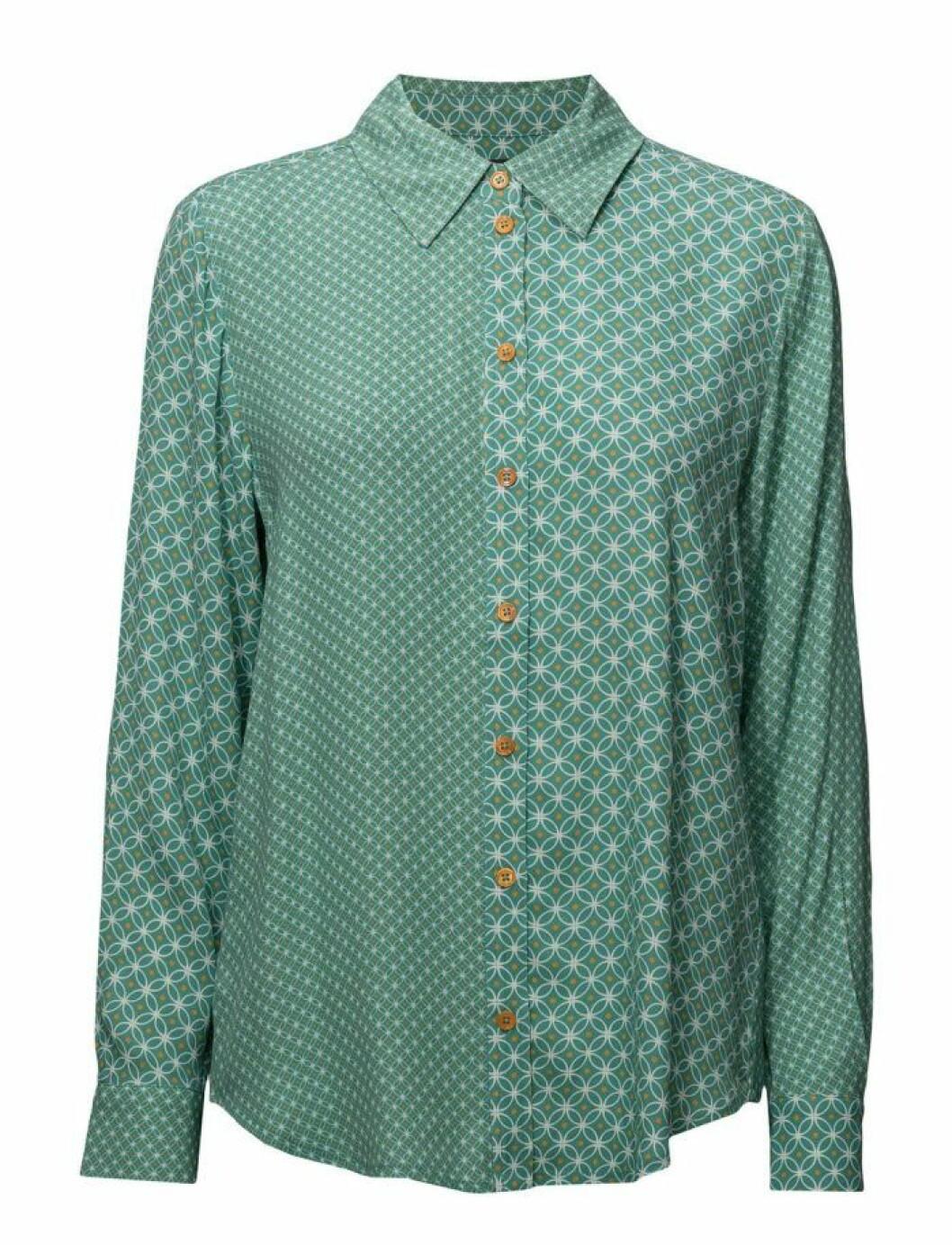 Mintgrön skjorta från Stine Goya