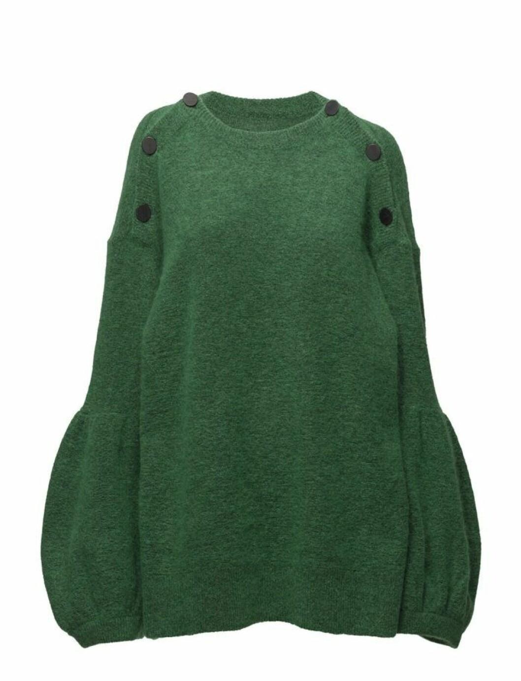 Mörkgrön stickad tröja från Malene Birger