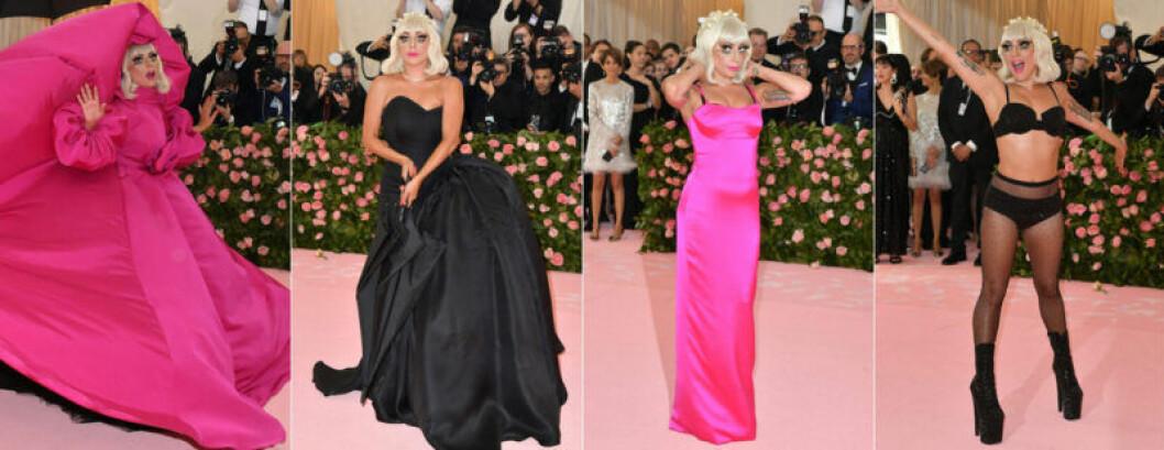 Lady Gaga på röda mattan
