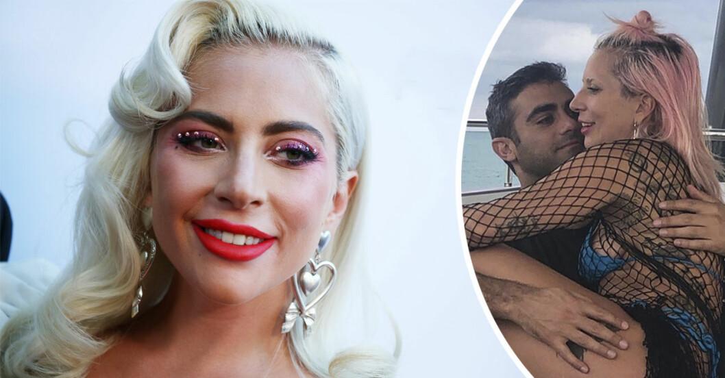 Lady Gaga med pojkvän