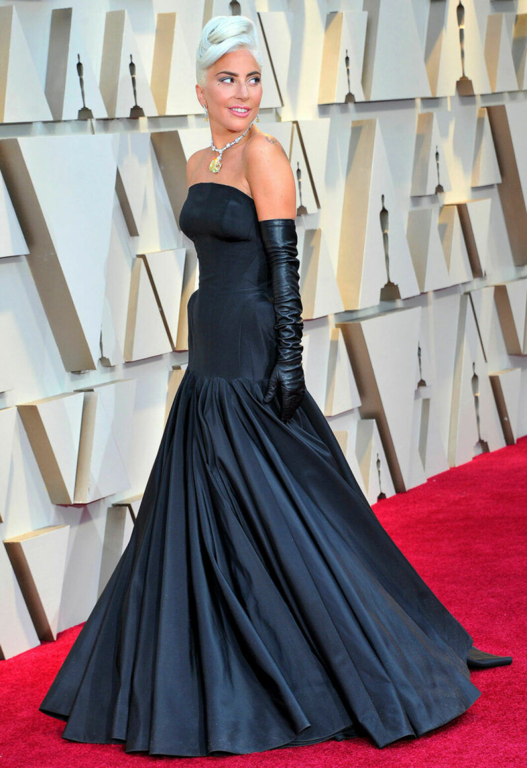 Lady Gaga på Oscarsgalan 2019