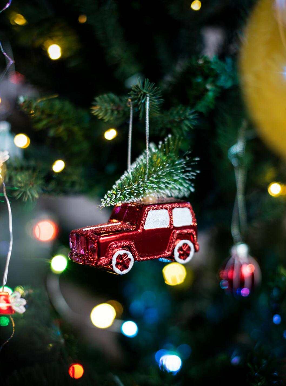 Lekfullt julgranspynt från Lagerhaus 2019