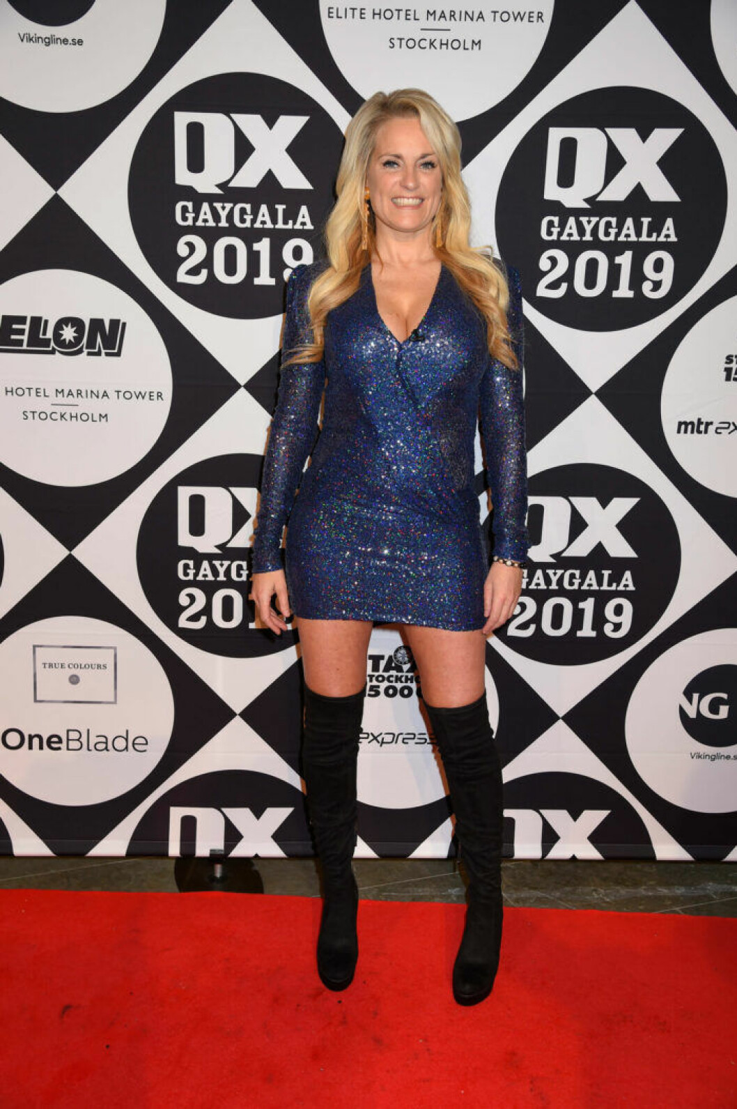 Laila Bagge på QX-galan 2019