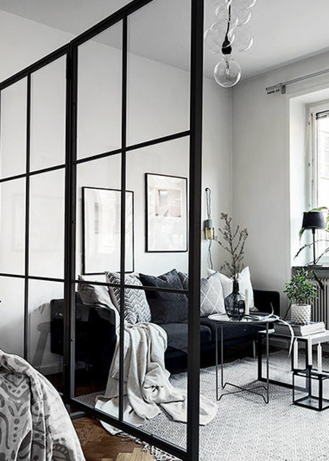Vitt påslakanset med mönster, H&M Home