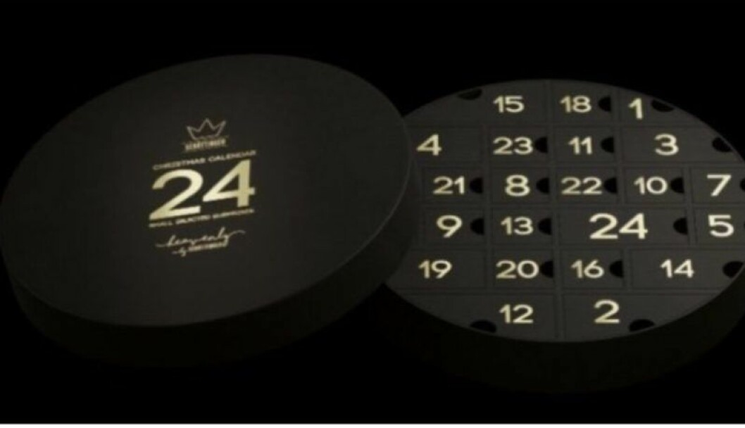 2018 adventskalender med lakrits