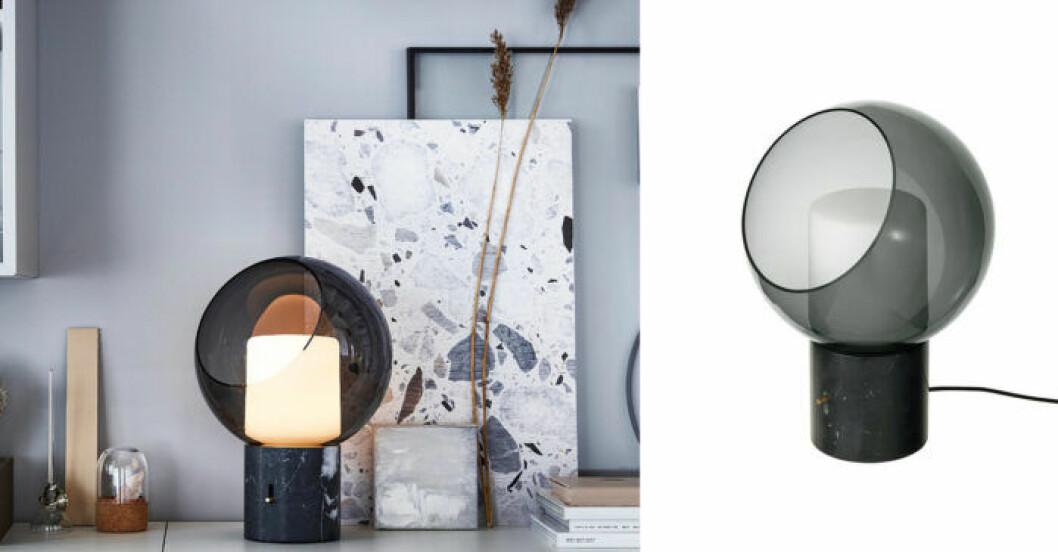 Lampa glas IKEA