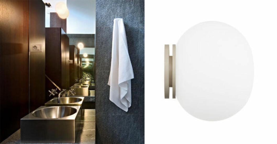 Slos badrumslampa för spegel/vägg