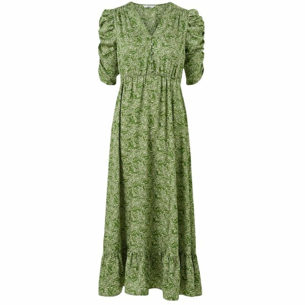Grön maxiklänning från ellos