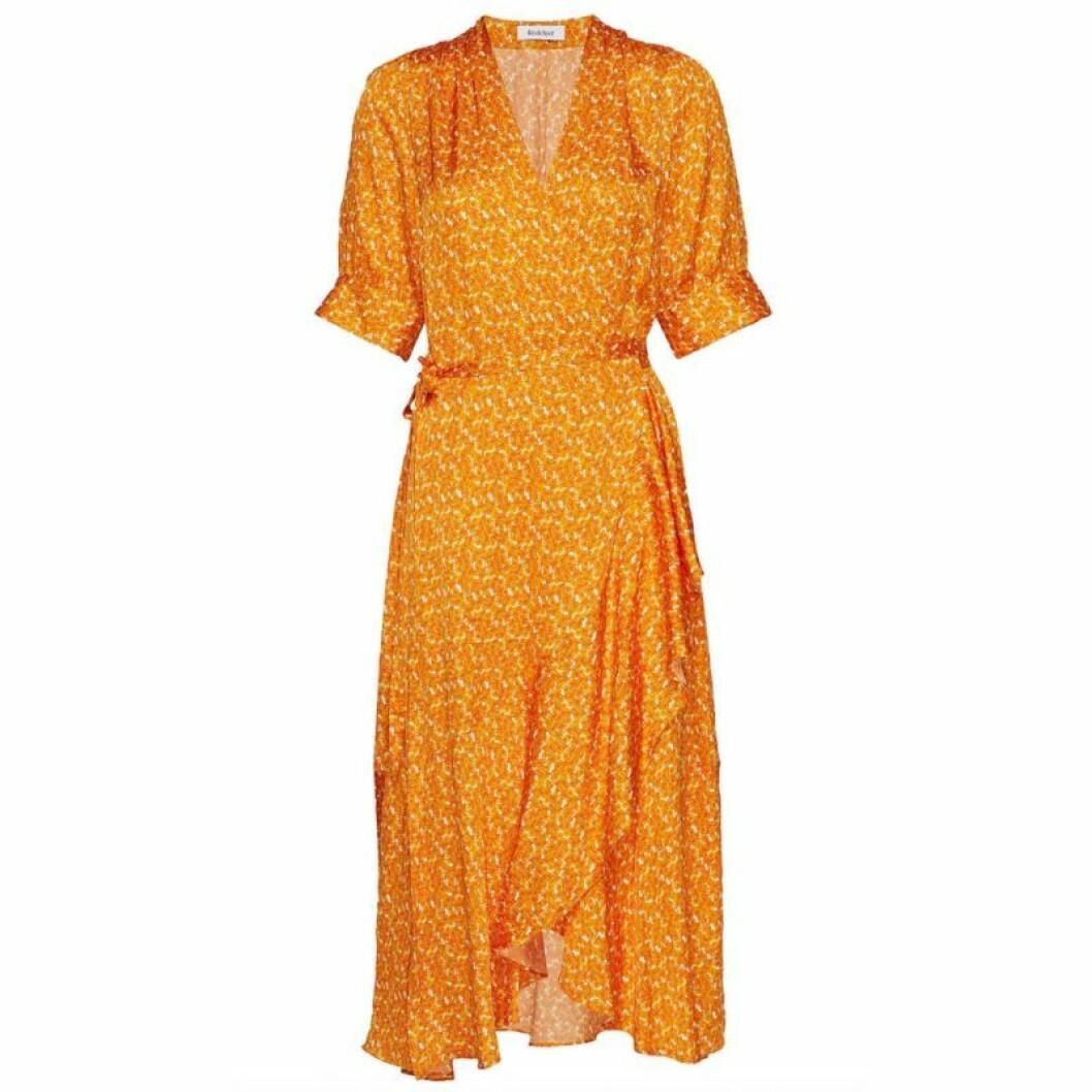 Orange Rodebjer klänning
