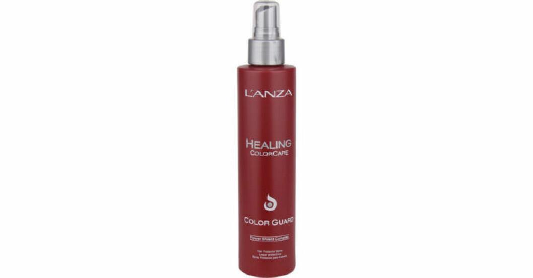 Värmeskydd från Lanza som ska göra håret mjukt