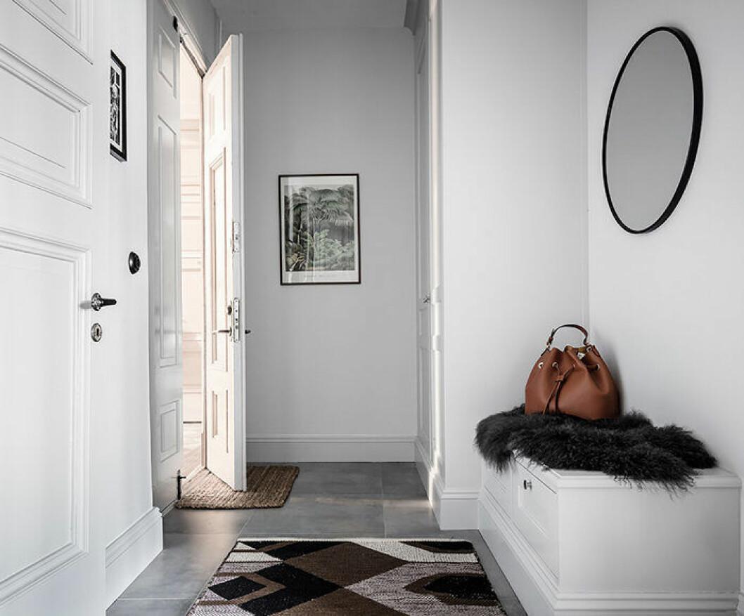 Håll snyggt i hallen med hjälp av dörrmattor