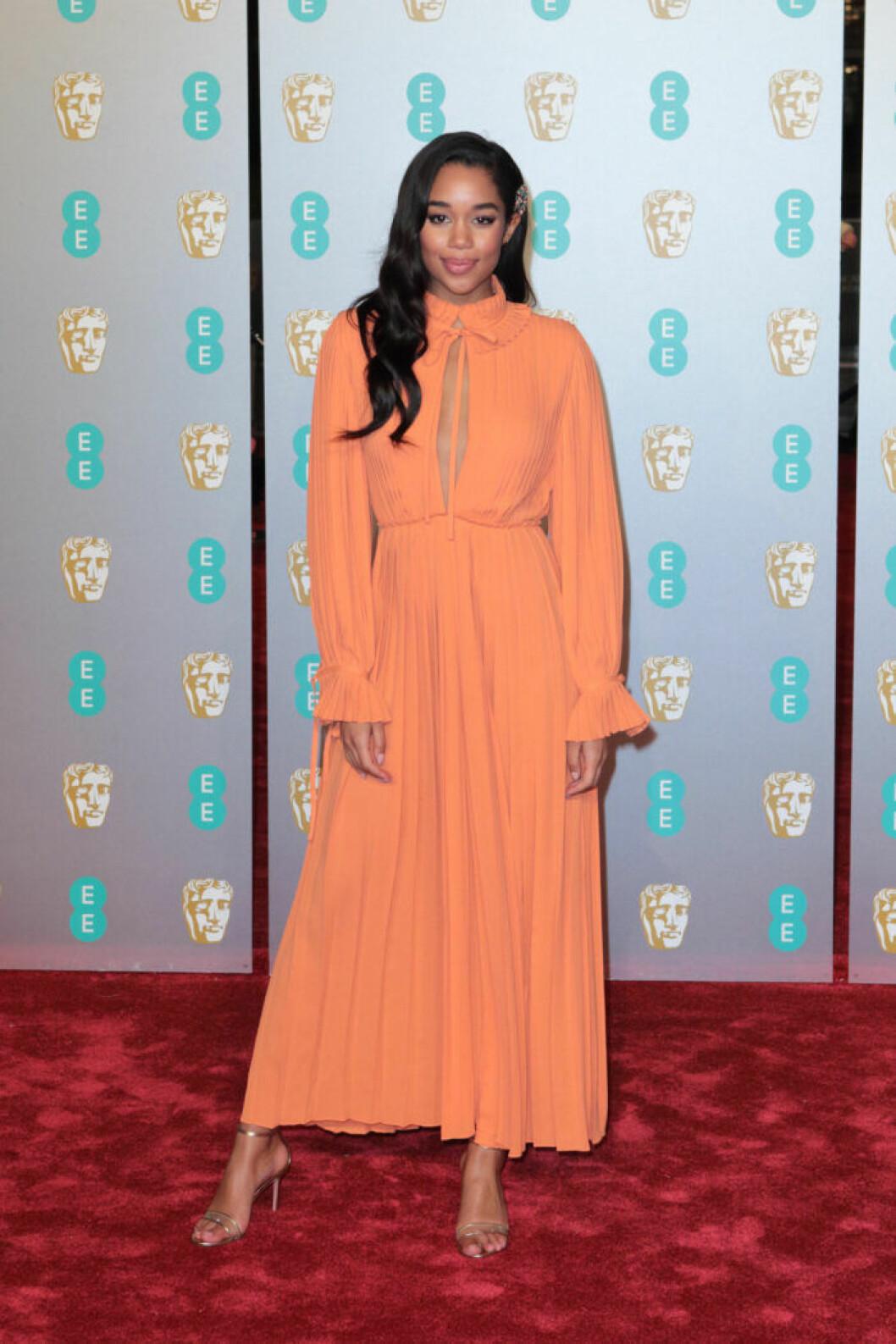 Laura Harrier på BAFTA 2019