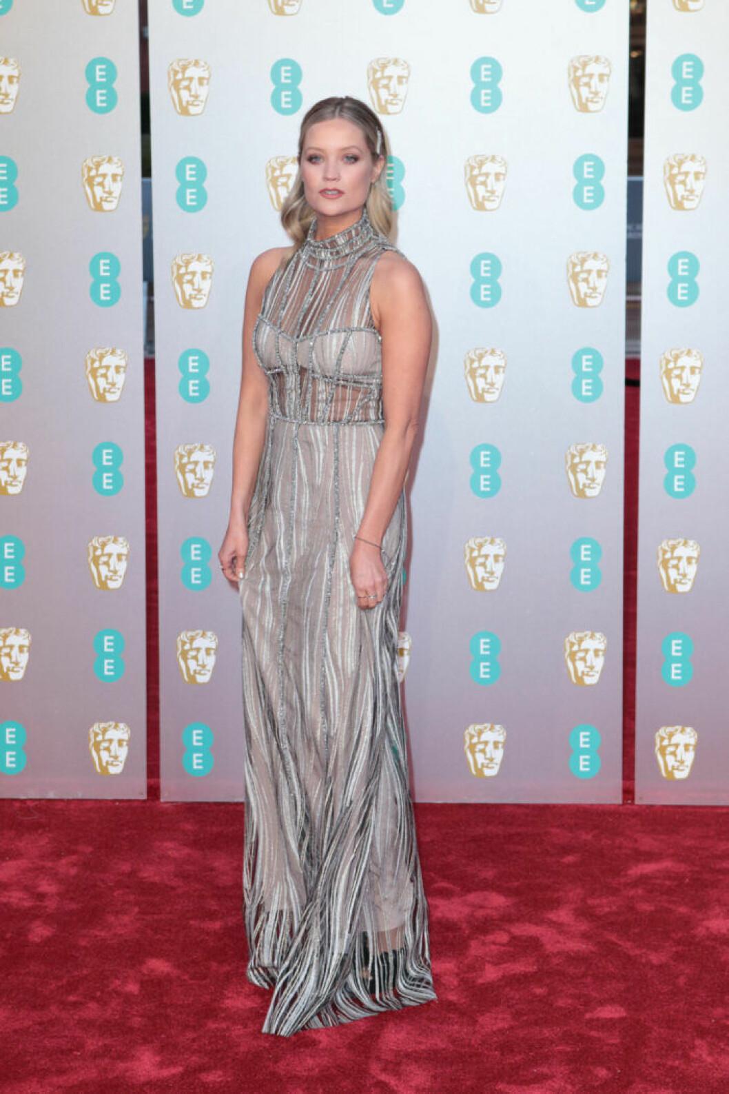 Laura Whitmore på BAFTA 2019