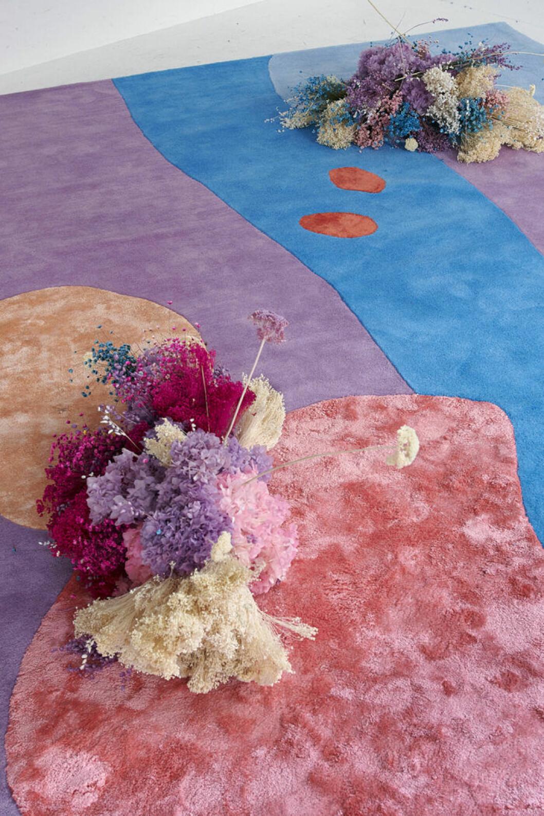 Floristen Poppykalasmatta för Layered