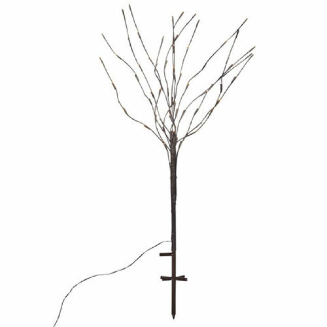 ljusträd med LED-lampor