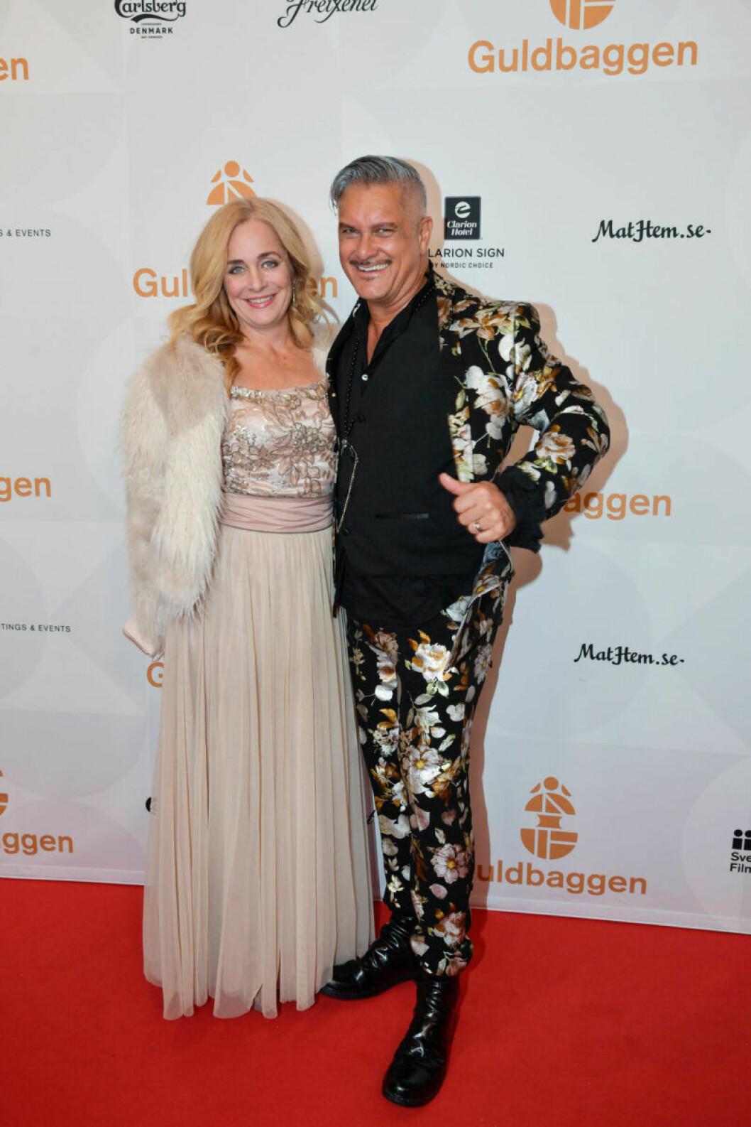 Röda mattan, Lia Boysen och Magnus Skogsberg Tear