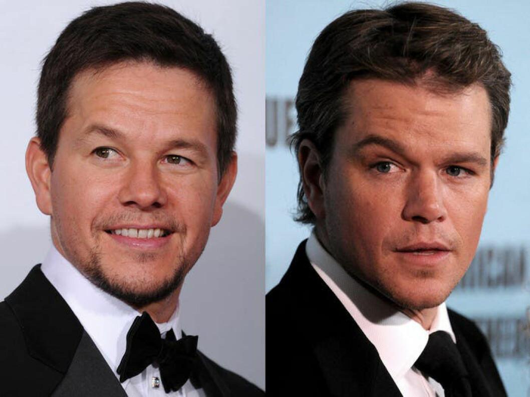 Mark Wahlberg och Matt Damon