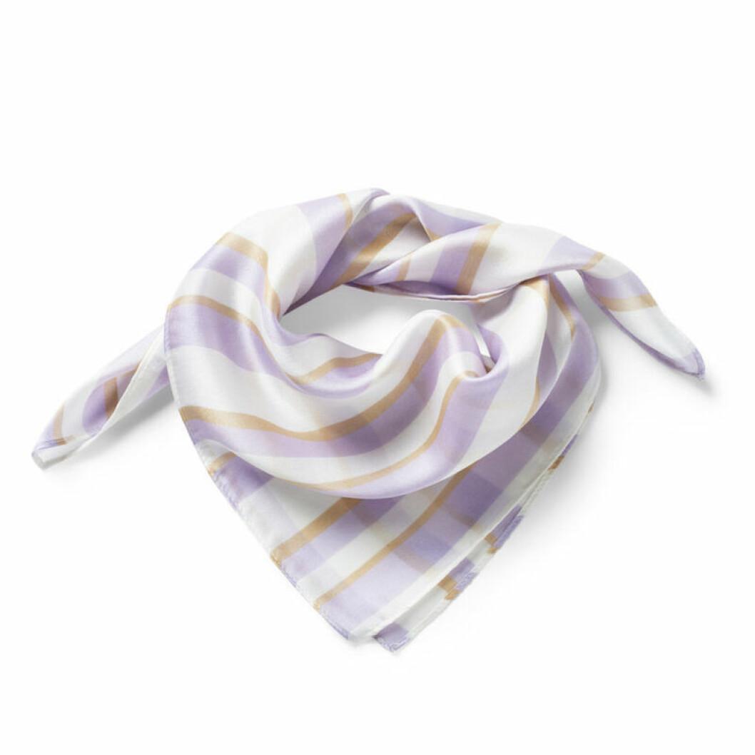 Ljuslila scarf