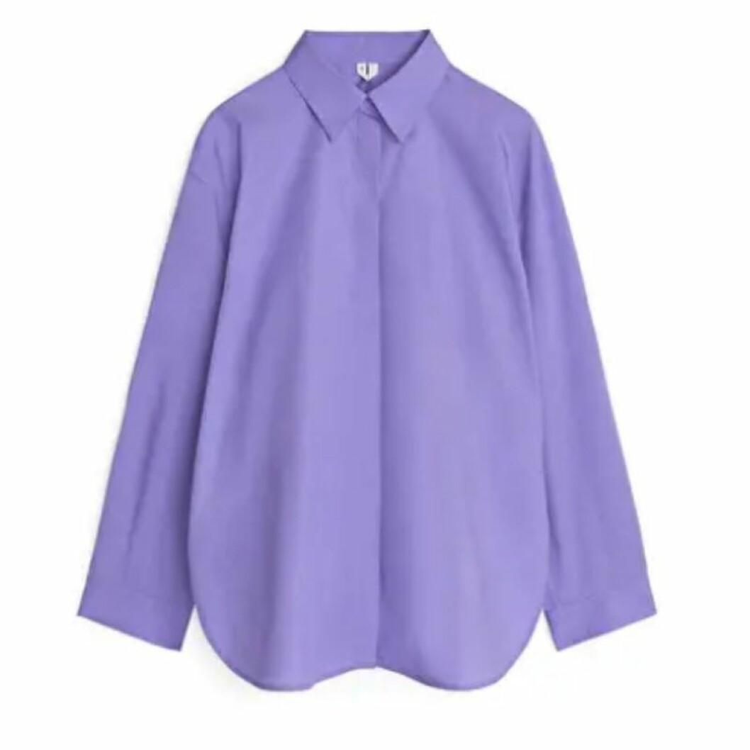 Lila skjorta från ARKET