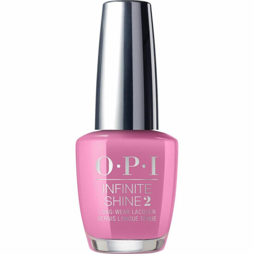 rosa/lila nagellack Opi