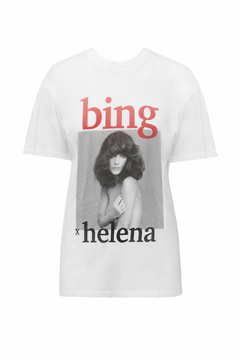 Anine Bing x Helena Christensen t-shirt