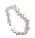 Silverfärgad ring, vågformad med cubic zirkona. Ring från Swarovski-kristaller.