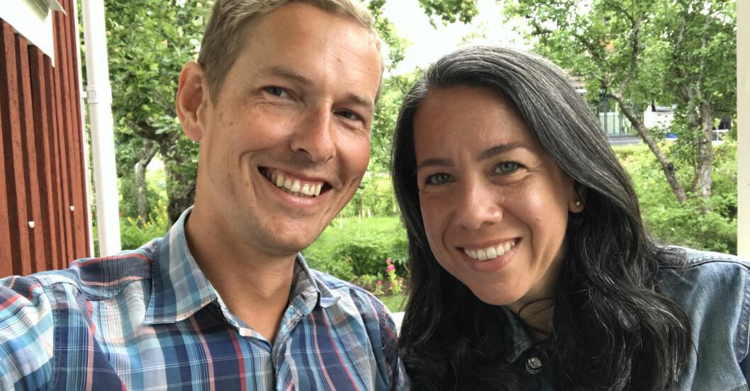 Oskar och Maribel Lindberg