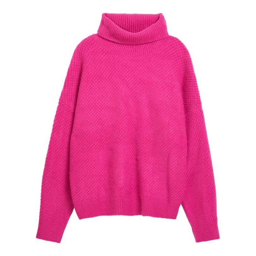 rosa-polo-tröja-lindex