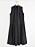 Svart ärmlös skjortklänning med knappar och veckade detaljer nertill. Skjortklänning från Lindex.