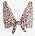 Leopardmönstrad bikiniöverdel med knytdetalj. Bikini från Lindex.