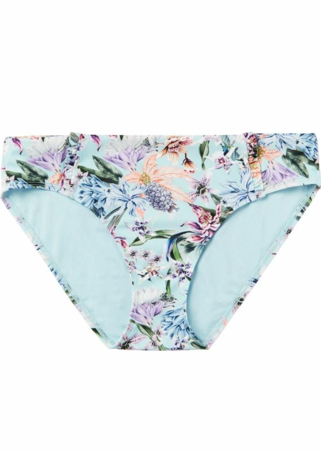 Blåmönstrad bikinitrosa