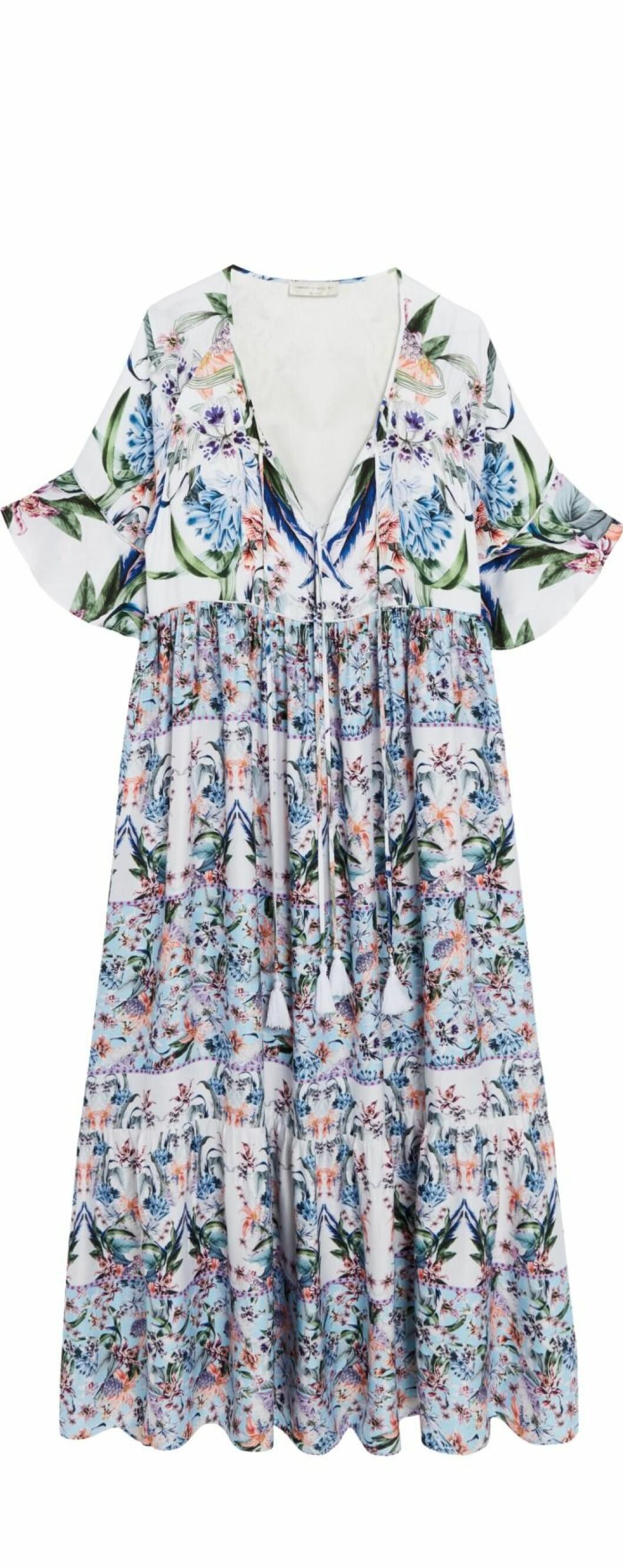 Mönstrad maxiklänning By Malina Lindex
