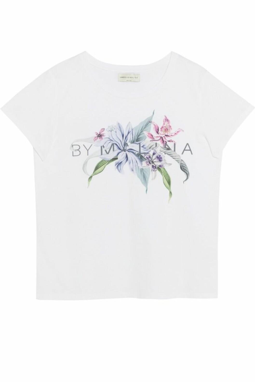 T-shirt med By malina print