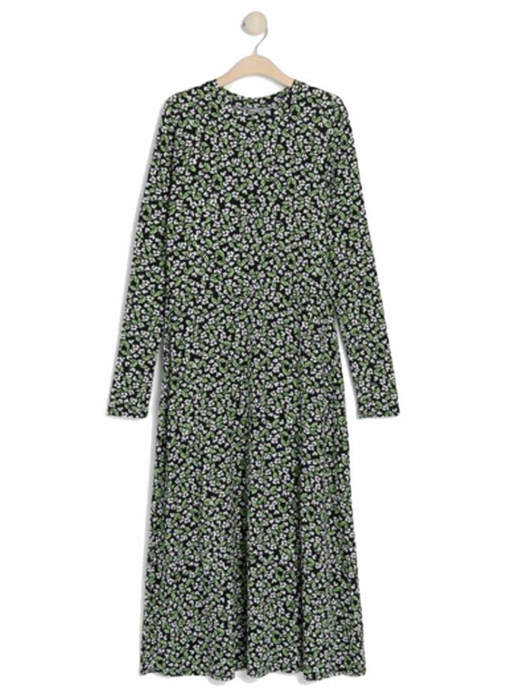 Grön klänning från Lindex