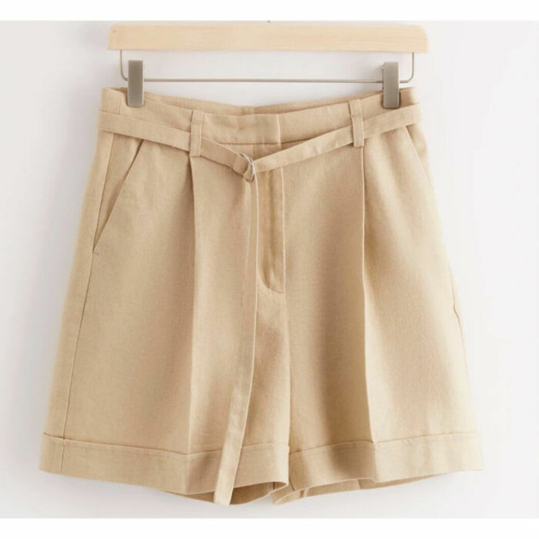 Shorts med hög midja från Lindex