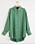 Grön skjorta i silke från Lindex.