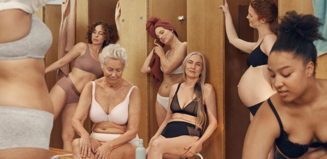 Lindex inkluderande underklädeskampanj hyllas av kvinnor