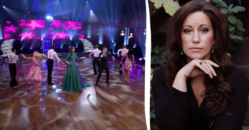 Lisa Nilsson och Let's dance.