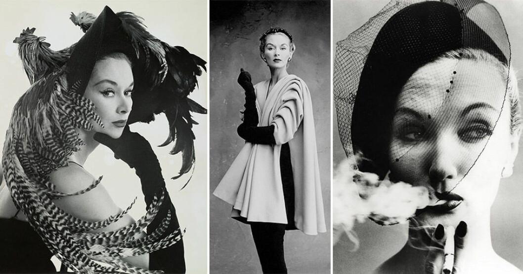 Världens första supermodell var svenska Lisa Fonssagrives