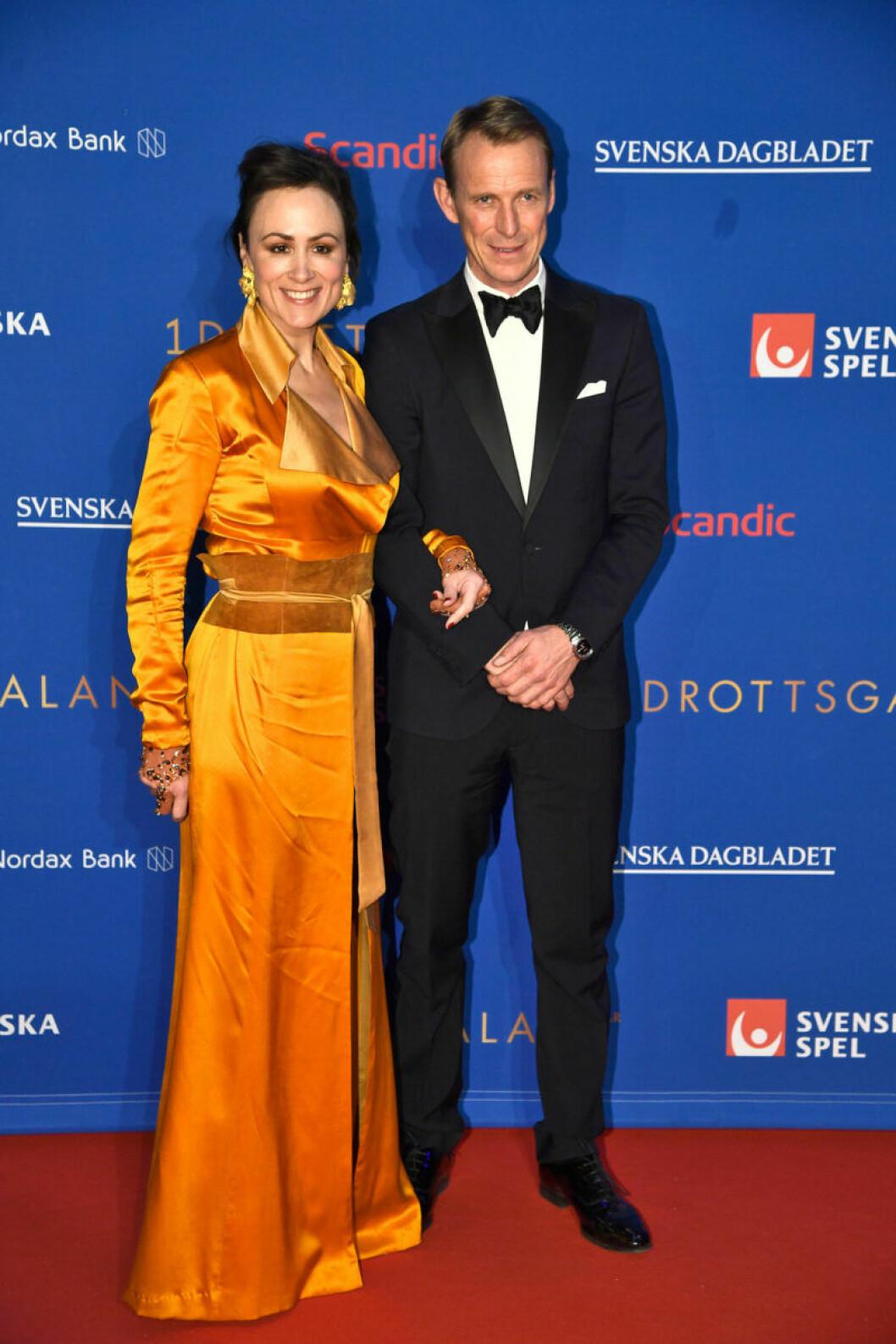 Röda mattan, Lisen Bratt Fredricson och Peder Fredricson