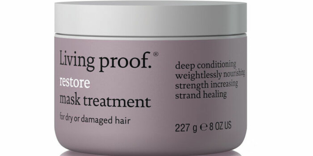 Härinpackning för torrt och skadat hår