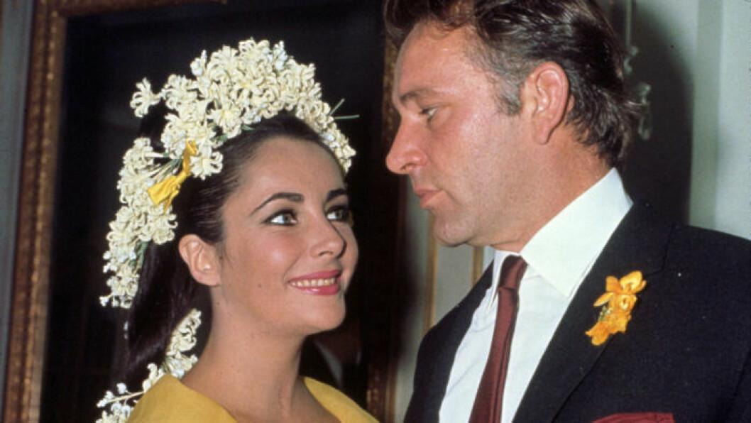 Liz Taylor och Richard Burton