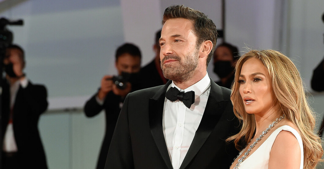 Ben Affleck och Jennifer Lopez.