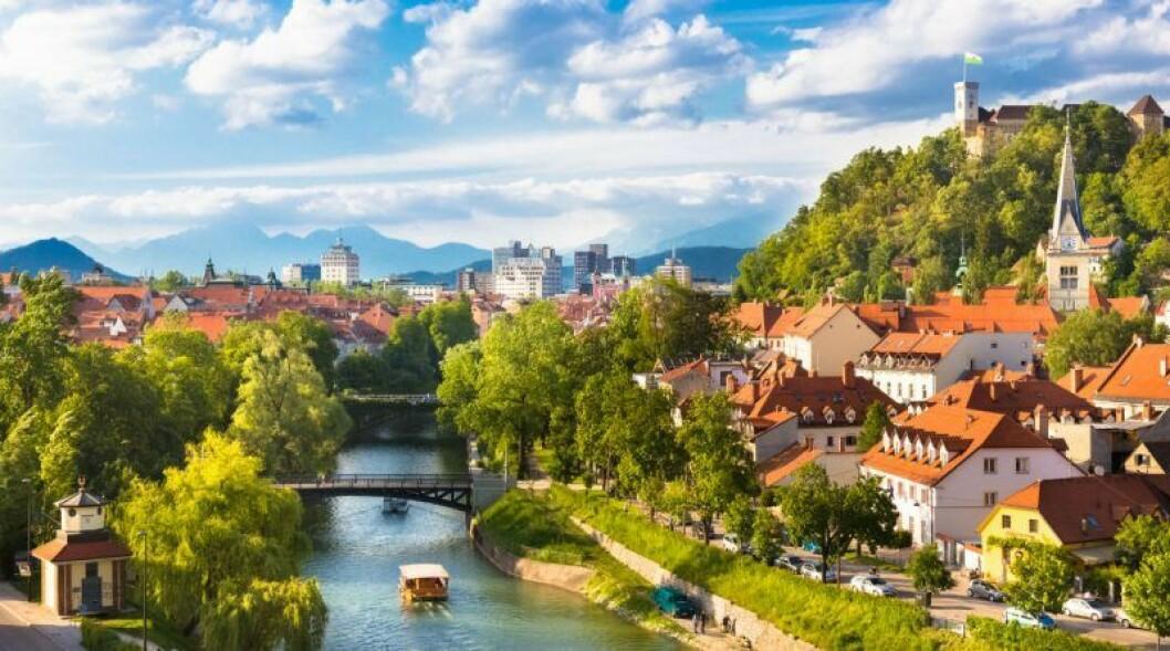 Åk till Ljubljana i Slovenien på smekmånad.