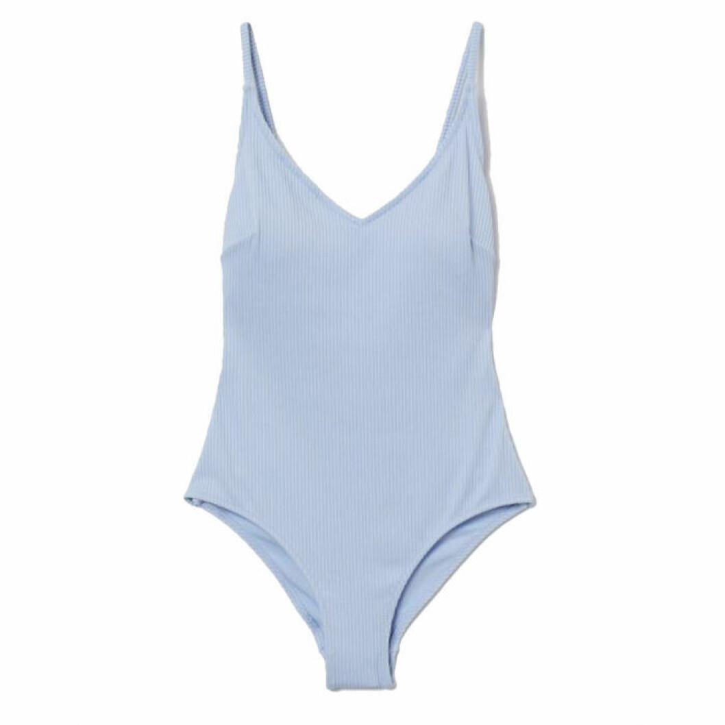Ljusblå baddräkt från H&M