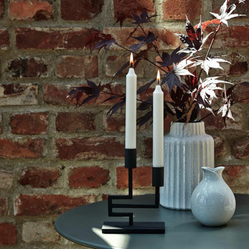Ljusstake och två vaser från Tareq Taylors Hemtex-kollektion.