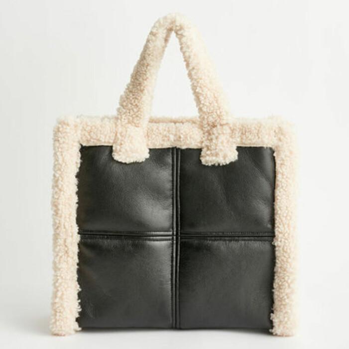 Stand Studio Lolita Shearling bag
