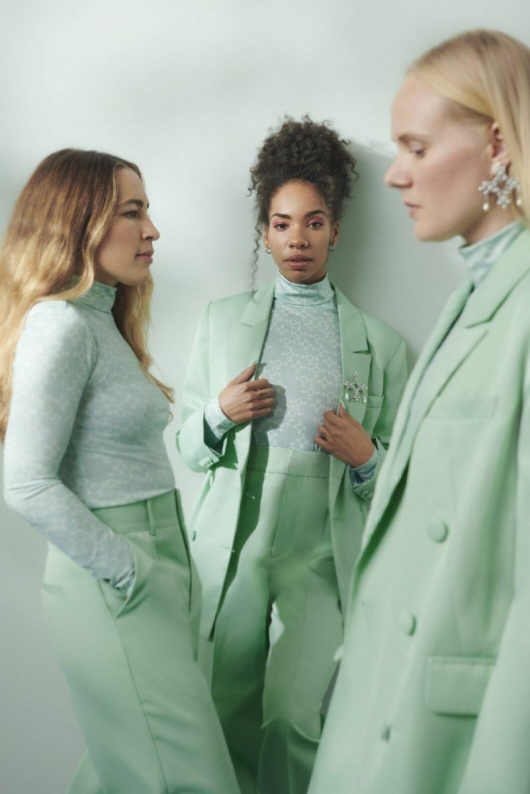 Pastellfärgad kostym från Gina tricot x Aéryne