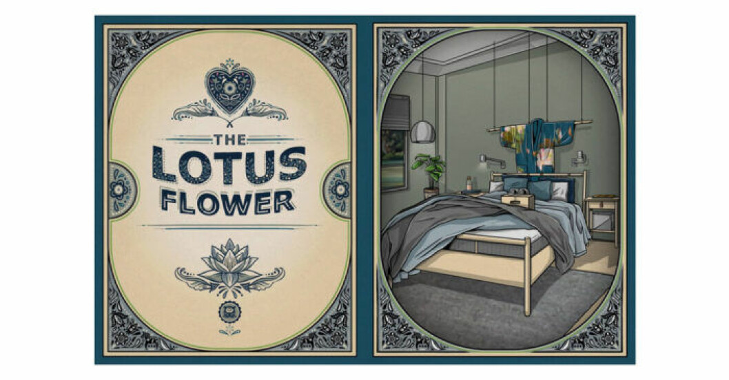 Ikea Kåma Sutra – Lotus Flower