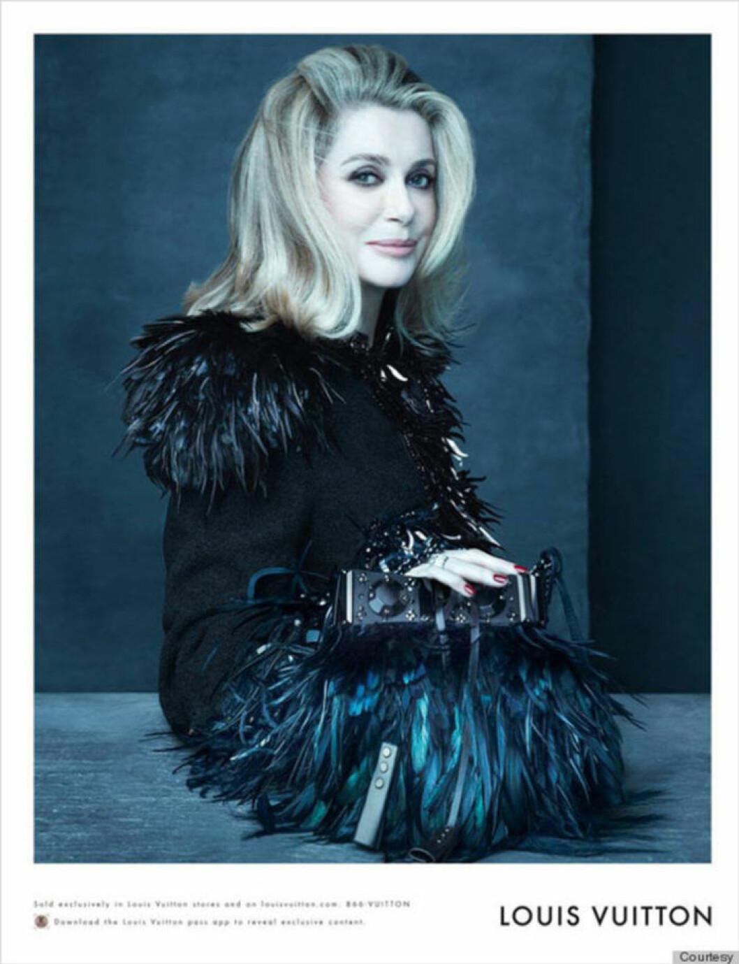 Marc Jacobs musa Catherine Deneuve.